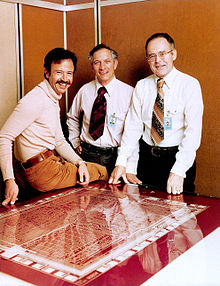 Andy Grove, with his team (1978). . Image credit: Wikipedia